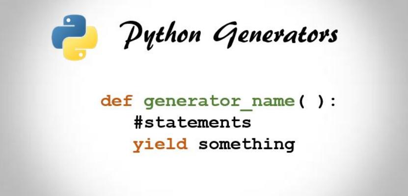 Генераторы Python