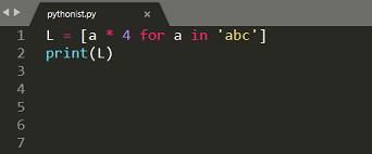 , Тест. Работа со списками в Python для продвинутых