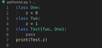 , Тест «Наследование в Python»
