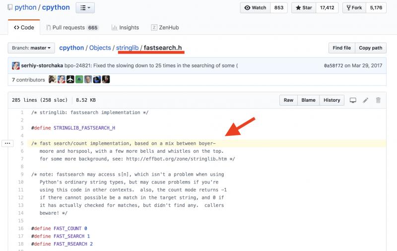 поиск в строке, Python поиск в строке