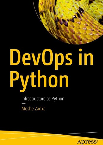 "Обложка книги ""DevOps in Python"""