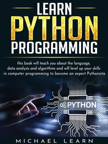 "Обложка книги ""Learn Python programming"""