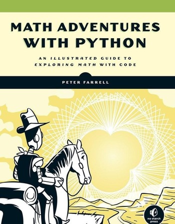 "Обложка книги ""Math adventures with Python"""