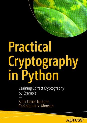 "Обложка книги ""Practical Cryptography in Python"""