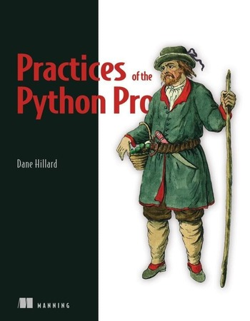"Обложка книги ""Practices of the Python Pro"""