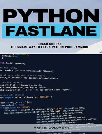 """Обложка книги """"Python Fastlane"""""""