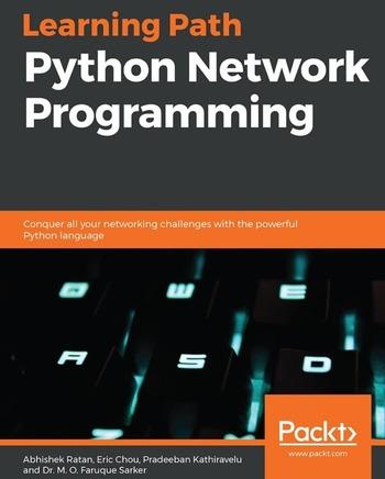 """Обложка книги """"Python Network Programming"""""""