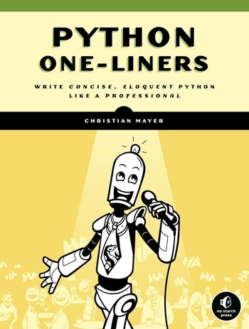 """Обложка книги """"Python One-Liners"""""""