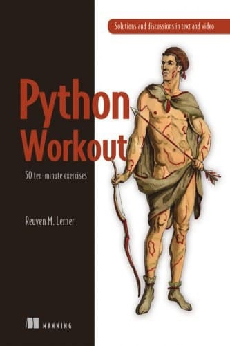 "Обложка книги ""Python Workout 50 ten-minute exercises"""
