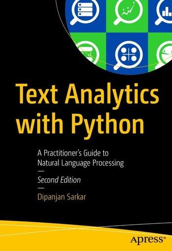 "Обложка книги ""Text Analytics with Python"""