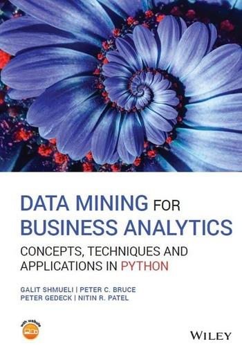 "Обложка книги ""Data mining for business analytics"""