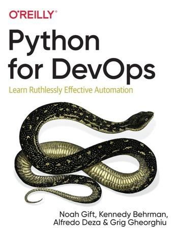 """Обложка книги """"Python for devops"""""""