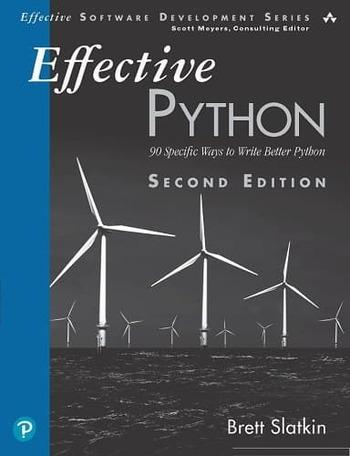"""Обложка книги """"Effective Python"""""""