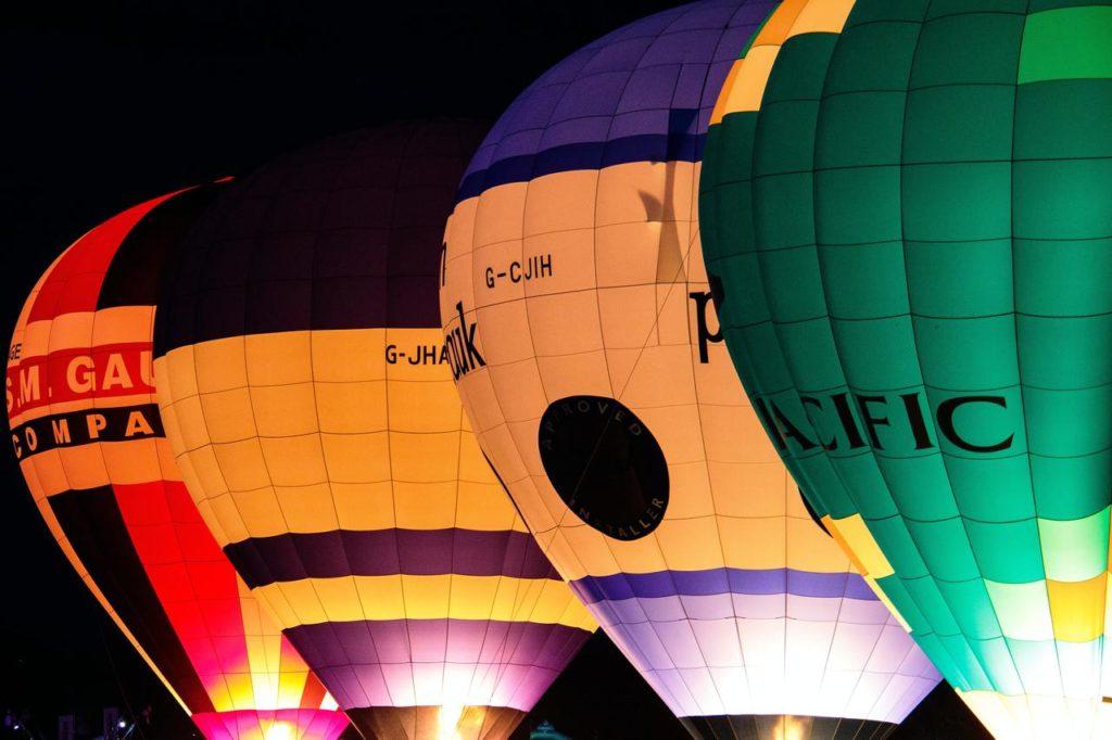 Четыре воздушных шара