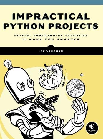 "Обложка книги ""Impractical Python Project"""