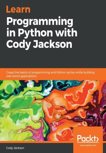 "Обложка книги ""Learn Programming in Python with Cody Jackson"""