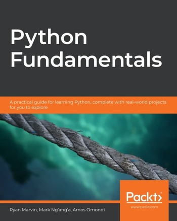 """Обложка книги """"Python Fundamentals"""""""
