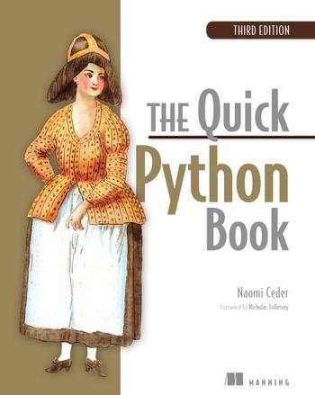 """Обложка книги """"The Quick Python Book"""""""