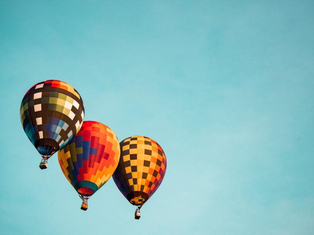 Три воздушных шара